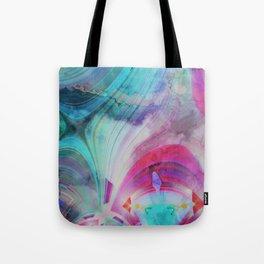 pastel geometrical asbtract Tote Bag