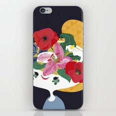 flower pot iPhone & iPod Skin