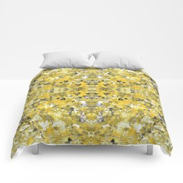 sunshine meditation Comforters