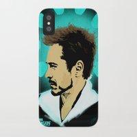 tony stark iPhone & iPod Cases featuring Tony Stark. by Tomcert
