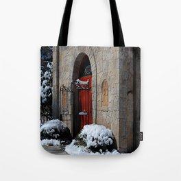 Portiuncula Chapel Doors Tote Bag