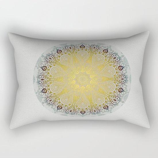 Mandala Love Rectangular Pillow