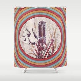 Wired Mind Shower Curtain