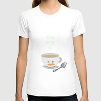 wallet T-shirts featuring 'You are my cup of tea!' by aPersonalidea