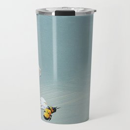 Bees in spring Travel Mug