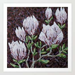 Kay Rouse Flowers Artwork Art Print