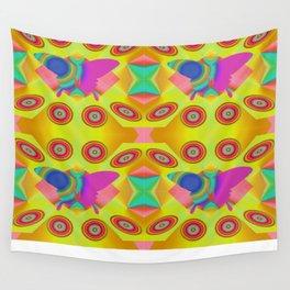 Butterflies QR Wall Tapestry