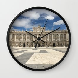Madrid, Spain - Royal Palace Wall Clock