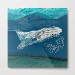Whale done Metal Print