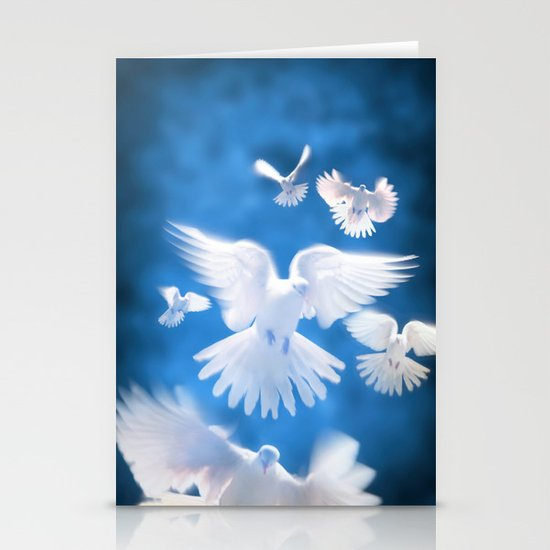 Doves Stationery Cards