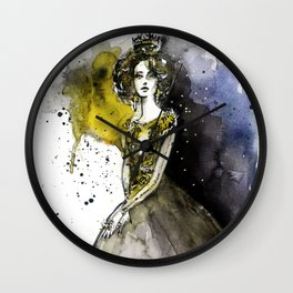 Fashion queen 2 Wall Clock