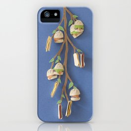 Summer Time, Burger Time iPhone Case