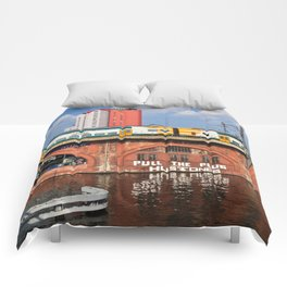 Old storehouse of Berlin Comforters