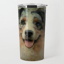 Australian Shepard - Aussie Travel Mug
