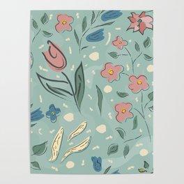 Bright Blossom Poster