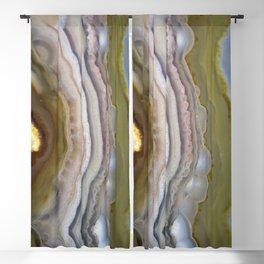 agate slice 2019 Blackout Curtain