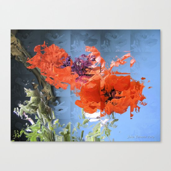 Put on Your Red Shoes and Dance the Blues Canvas Print