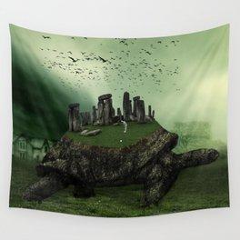 Druid Golf Wall Tapestry