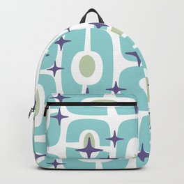 Mid Century Modern Cosmic Abstract 377 Backpack