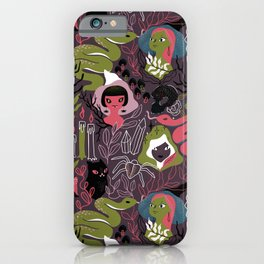Coven. Witch sisterhood iPhone Case