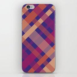 Violet Madras I iPhone Skin
