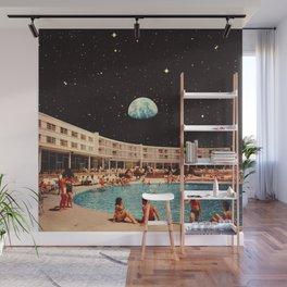 Lunar Pool Life Wall Mural