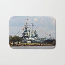 Full Dressed Battleship Bath Mat