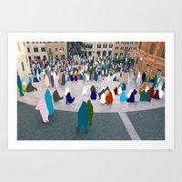 Sometimes People Annoy me Feat. The Spanish Steps, Rome Art Print