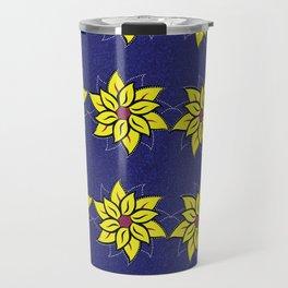 Afro Ankara Wax Print 15 Travel Mug