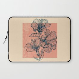 Hibiscus Colors Laptop Sleeve