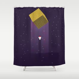 -Fez Beam me up- Shower Curtain
