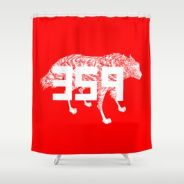 Wolf 359 Shower Curtain
