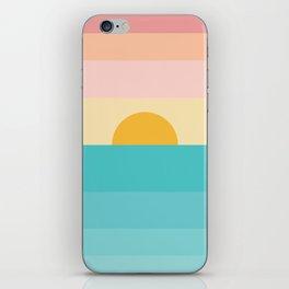 sunrise /sunset iPhone Skin