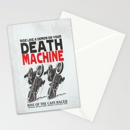 Death Machine Stationery Cards