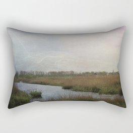 Flat water Landscape Rectangular Pillow