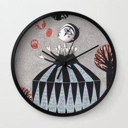 The Juggler's Hour Wall Clock