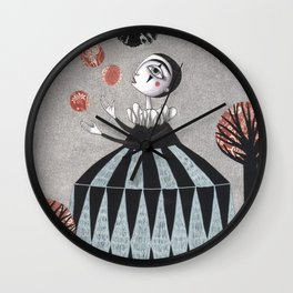 The Juggler's Hour Wall Clock
