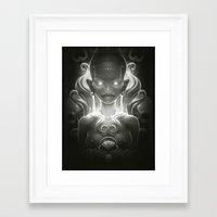 spirit Framed Art Prints featuring Spirit by Dr. Lukas Brezak