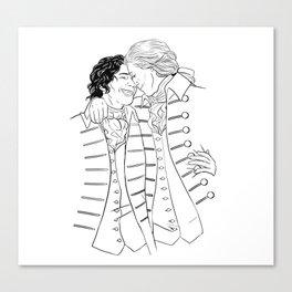 Martin & Henry Canvas Print