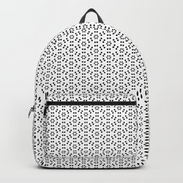 Pattern Black and white and others Backpack