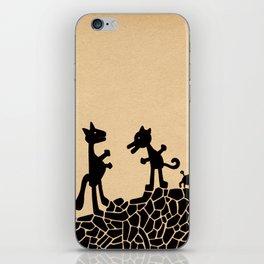 - le combat - iPhone Skin
