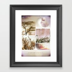 Heart to Find Framed Art Print