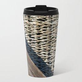 Wooden composition Travel Mug