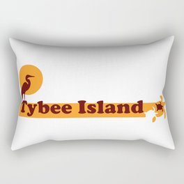 Tybee Island - Georgia. Rectangular Pillow