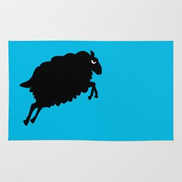 Angry Animals: Sheep Rug