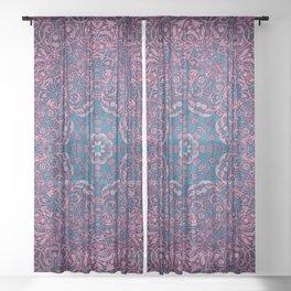 magic mandala 36 #mandala #magic #decor Sheer Curtain