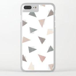 Confetti Shy Clear iPhone Case