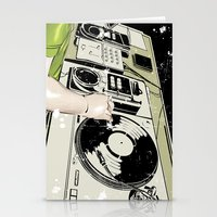 dj Stationery Cards featuring DJ! by Parrish