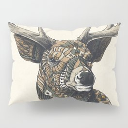 White-Tailed Deer (Color Version) Pillow Sham