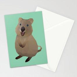 Quokka Polygon Art Stationery Cards